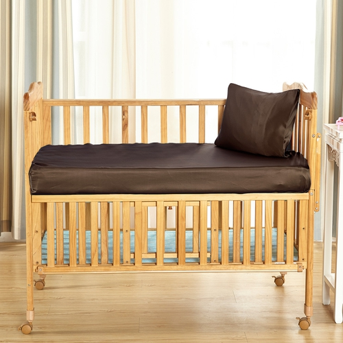 22 Momme Silk Crib Fitted Sheet