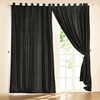 Black Silk Drape