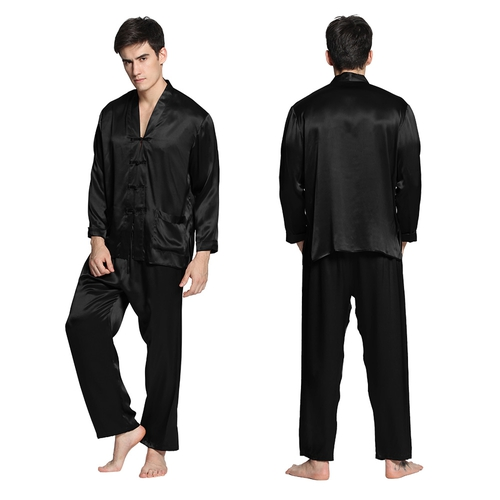 Mens Silk Pajamas - Buy Mens Silk Pajamas in Lilysilk