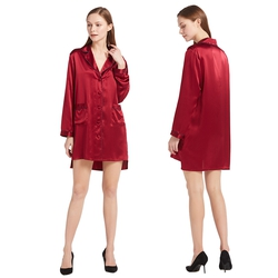 Women Silk Nightshirt