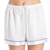 White Women Silk Shorts