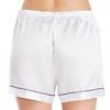 White Women Silk Shorts