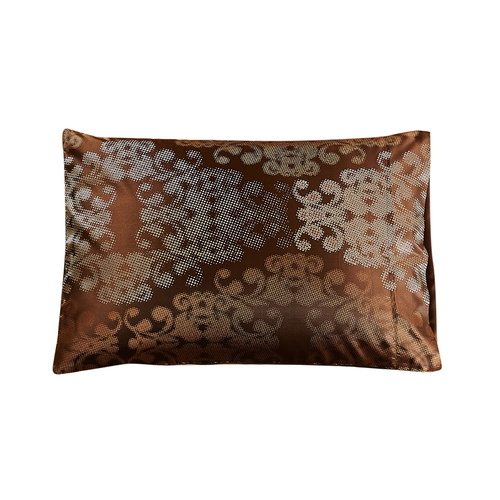 Chocolate Silk Pillowcase