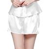 Blanc Short Femme Soie