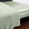 Soft Green Silk Sheets