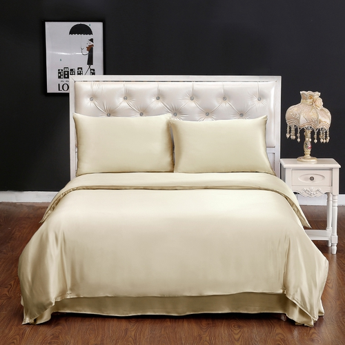 22 Momme Seamless Silk Sheets Set