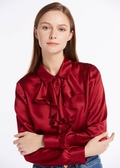 Claret Silk Shirts