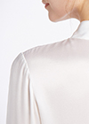 White Silk Shirts