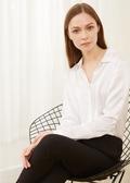 White Silk Shirts
