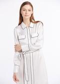 White  Silk Dresses
