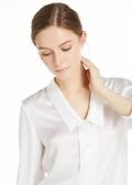 White Silk Blouses