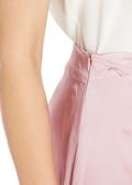 Rosy Pink Silk Skirts