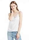 White Silk Camisoles