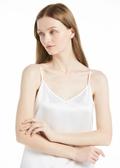 White silk camisole