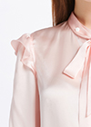 Light Pink Silk Shirts