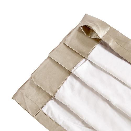 Tenda di 22 Momme seta con intestazione  Polo Tasca