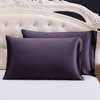 Purple Silk Pillowcases