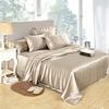 Coffee Silk Bed Linen Set
