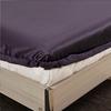 Purple Silk Fitted Sheet