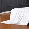 White Silk Flat Sheet