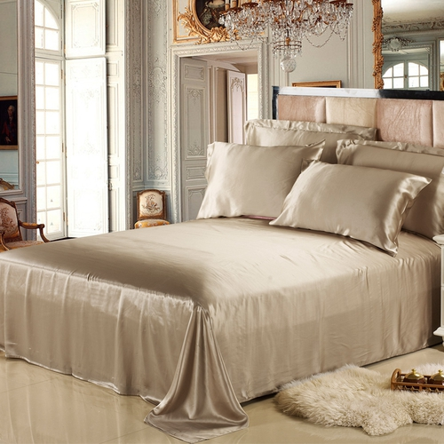 Full Size Silk Sheets