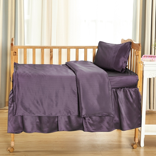 25 Momme Silk Baby Cot Sheets Set