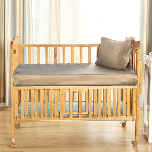 25 Momme Silk Crib Fitted Sheet