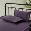 Purple Silk Pillowcase
