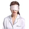 Apricot Silk Sleep Eye Mask