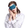Dark Teal Silk Sleep Eye Mask