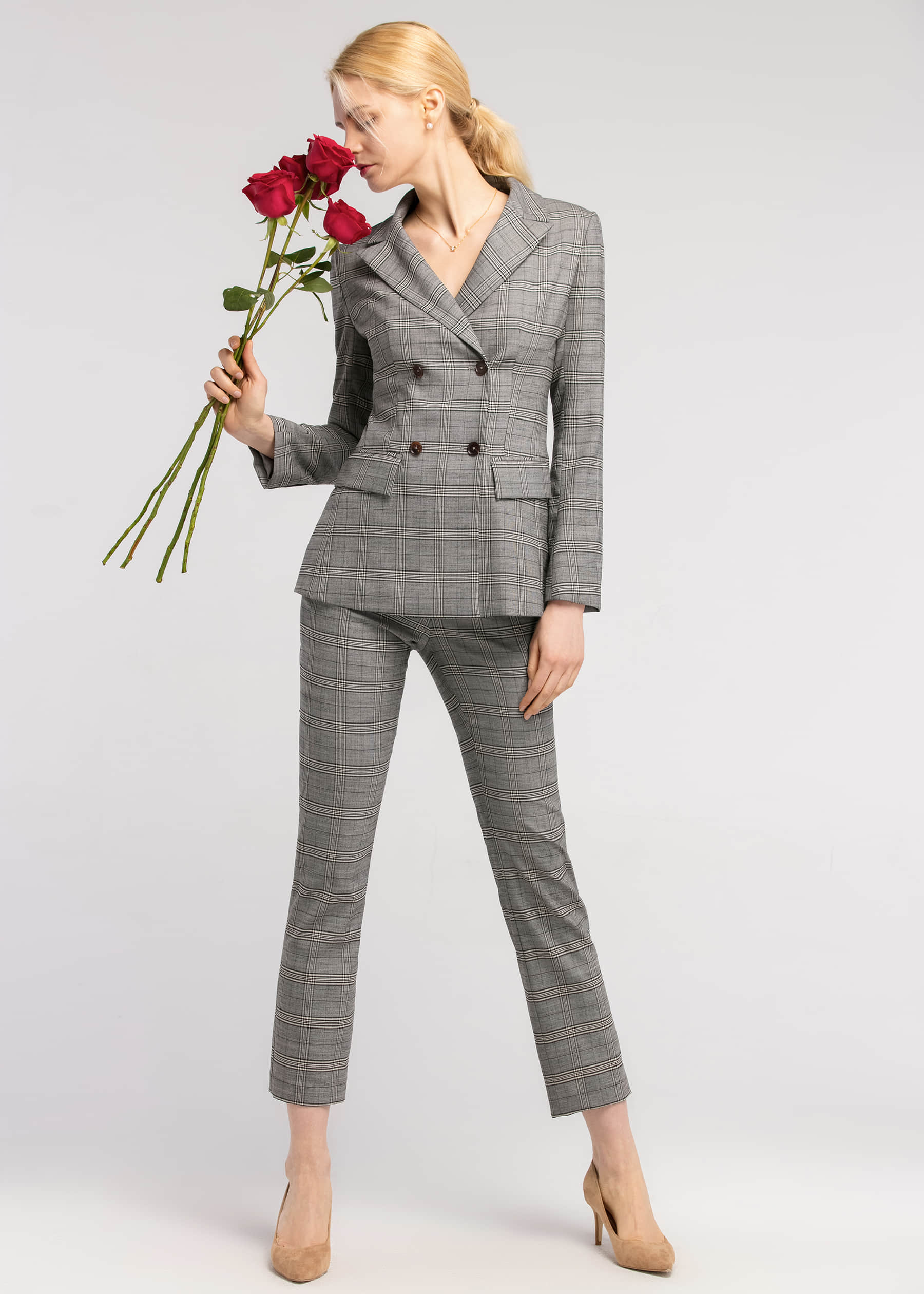 Comfortable and Chic in Silk Liner Suit
