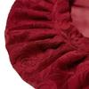 Claret Silk Sleeping Cap