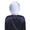 Taupe Silk Sleep Cap
