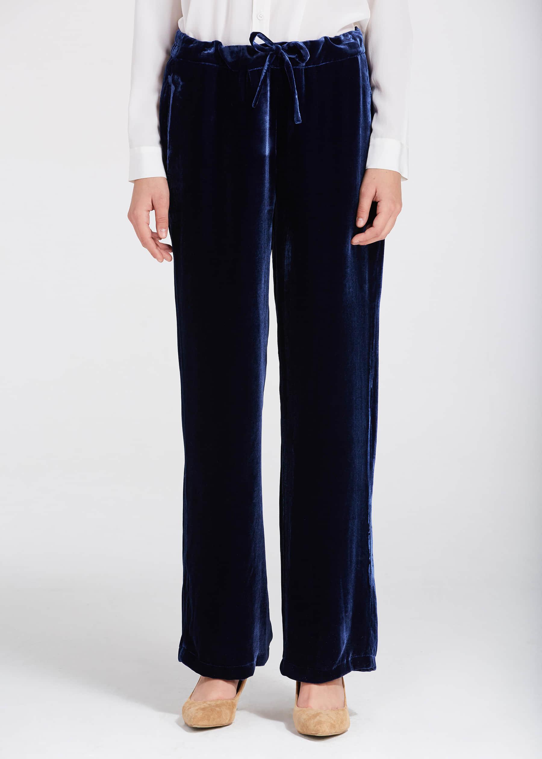 Conosciuto Pantaloni di velluto di seta di alta qualità AK87