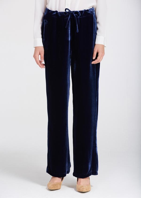 Ben noto Pantaloni di velluto di seta di alta qualità OP83