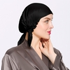 Black Silk Sleep Cap