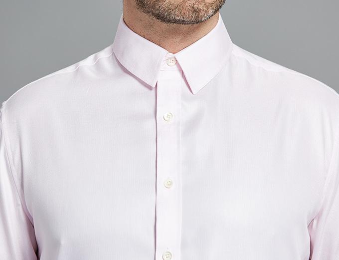 light pink dress shirt custom shirt