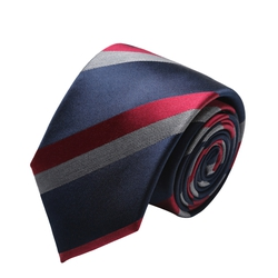 Silk Tie with Stripes