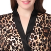 Leopard Plus Size Dressing Gown