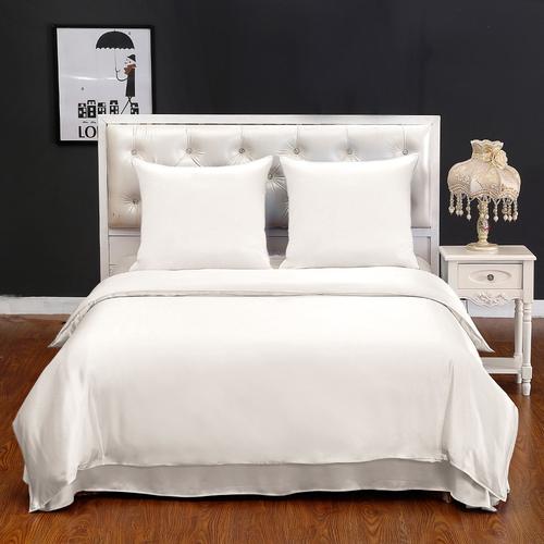 parure de lit en soie 19 momme sans couture. Black Bedroom Furniture Sets. Home Design Ideas