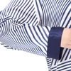 Blue & White Stripe Plus Size Pyjamas