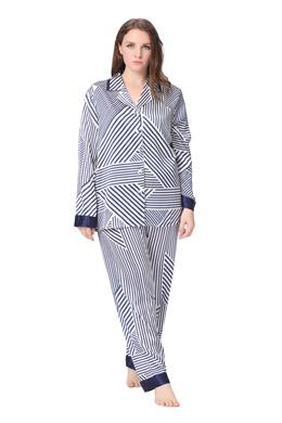 Plus Size Silk Pajama