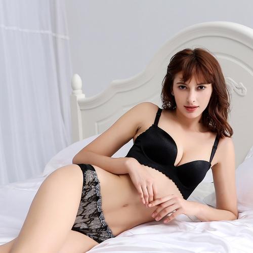 Black Silk Panty