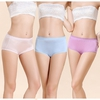 Light Blue + Light Pink + Orchid Silk Panties