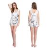Lotus White Women Silk Camisole