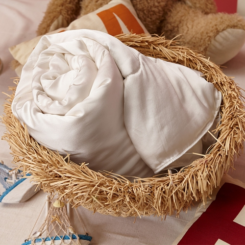 All Season Silk Cot Doona with Silk Shell