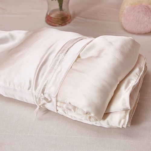 All Season Silk Cot Comforter with Silk Shell