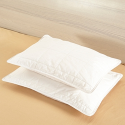 Silk Crib Lined Pillow