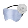 Light Blue Silk Eye Mask