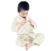 Beige Pijama Seda Niños